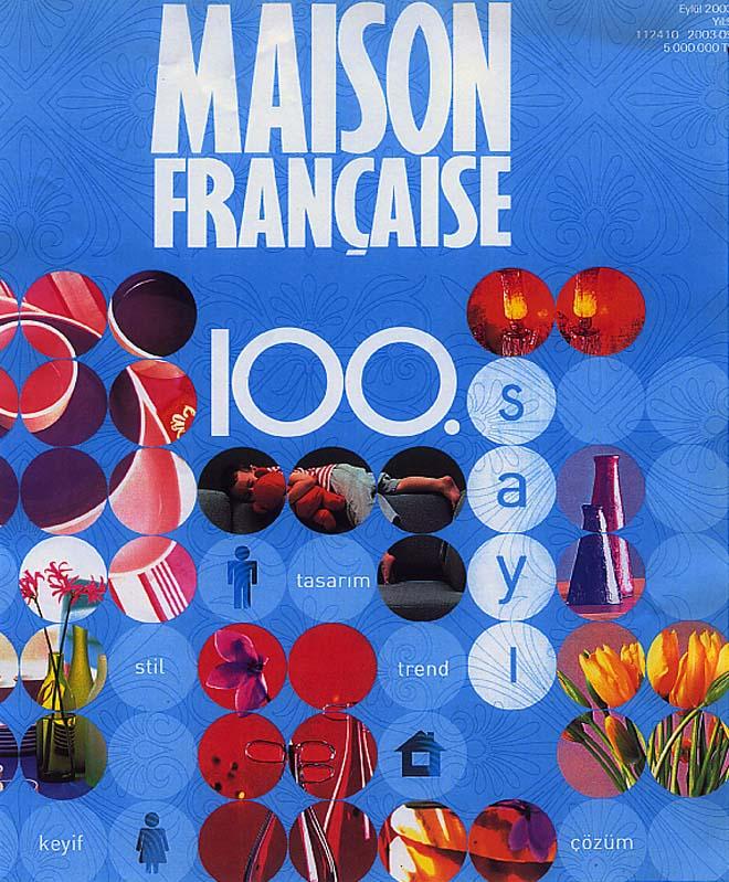 Maison Française magazine covers aCCenturC design gallery