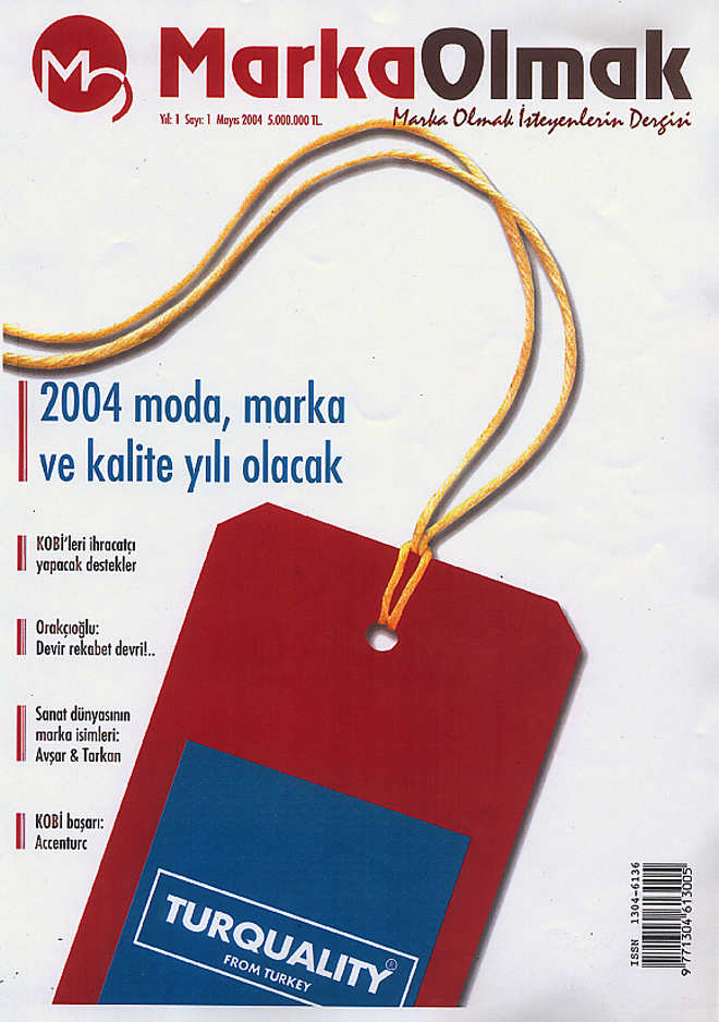 "Interview with aCCenturC's Emine Turan at ""Becoming a Brand"" Magazine,marka"