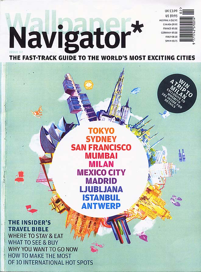 Wallpaper Navigator magazine on  Istanbul & aCCenturC