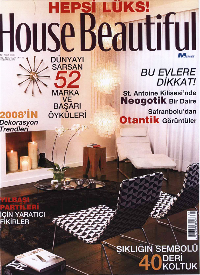 Coverage on aCCenturC Design Gallery at House Beautiful