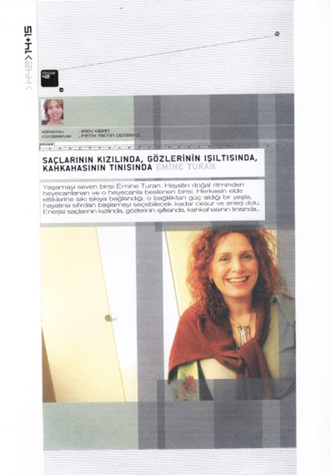 An exclusive interview with aCCenturC's Emine Turan ,on Hillside Magazine